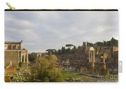 Ruins In The Roman Forum Rome Italy Carry-all Pouch