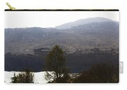 Trees On The Shore Of A Loch And Hills In The Scottish Highlands Carry-all Pouch