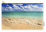 Tropical Beach Carry-all Pouch by Elena Elisseeva