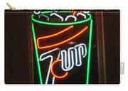 7 Up Sign Carry-all Pouch