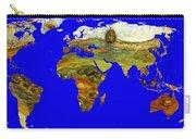 Modern World Map  Carry-all Pouch