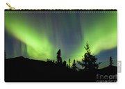 Yukon Taiga Spruce Northern Lights Aurora Borealis Carry-all Pouch