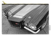 71 Camaro Z28 In Black And White Carry-all Pouch