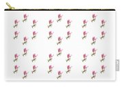 72 Dancing Pink Magnolias Panel Carry-all Pouch