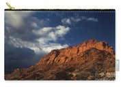 clearing storm waterpocket fold capitol reef NP Carry-all Pouch