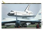 747 Transporting Discovery Space Shuttle Carry-all Pouch