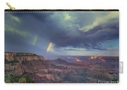 749220049 Double Rainbow Cape Royal North Rim Grand Canyon National Park Carry-all Pouch