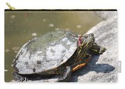 75 Year Old Turtle Moving On Carry-all Pouch