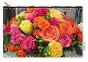 #790 D300 Roses Super Bright Carry-all Pouch