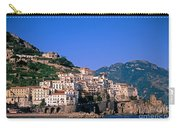 Amalfi Town In Italy Carry-all Pouch by George Atsametakis