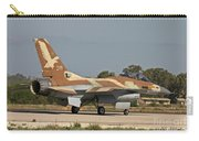 An F-16a Netz Of The Israeli Air Force Carry-all Pouch