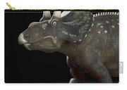 Dinosaur Diceratops Carry-all Pouch