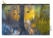 8 Ducks On Pond Carry-all Pouch