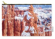 Eroded Rocks In A Canyon, Bryce Canyon Carry-all Pouch