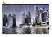 Financial District Of Singapore And View Of The Water In Singapore Carry-all Pouch