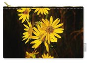 Bees And Flowers Carry-all Pouch