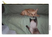 Foxy And Ninja Carry-all Pouch