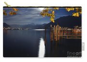 Moon Light Over An Alpine Lake Carry-all Pouch