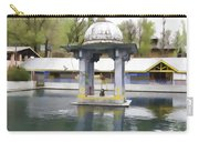 Premises Of The Hindu Temple At Mattan With A Water Pond Carry-all Pouch