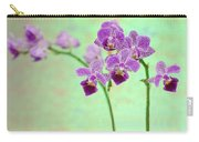 Purple Orchid-11 Carry-all Pouch