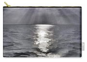 Rays Of Light Shimering Over The Waters Carry-all Pouch