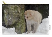 Snow Monkey Carry-all Pouch