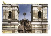 The Monastery Of San Francisco -  Lima Peru Carry-all Pouch