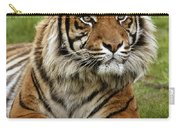 Tigre De Sumatra Panthera Tigris Carry-all Pouch