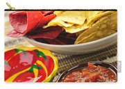 Tortilla Chips And Salsa Carry-all Pouch