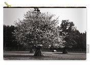 Tree With Large White Flowers Carry-all Pouch