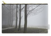 Trees With Fog Carry-all Pouch
