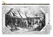 Valley Forge, Winter 1777 Carry-all Pouch