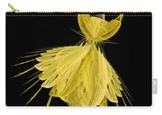 8 Yellow Ballerina Carry-all Pouch
