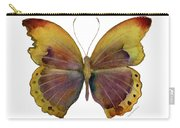 84 Gold-banded Glider Butterfly Carry-all Pouch by Amy Kirkpatrick