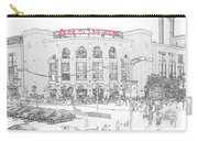 8th And Clark Busch Stadium Sketch Carry-all Pouch