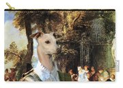 Italian Greyhound Art Canvas Print  Carry-all Pouch