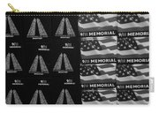 9/11 Memorial For Sale In Black And White Carry-all Pouch