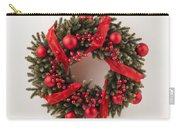 Advent Christmas Wreath  Carry-all Pouch