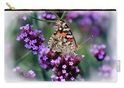 American Painted Lady Butterfly Carry-all Pouch