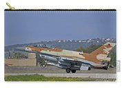 An F-16d Barak Of The Israeli Air Force Carry-all Pouch