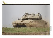 An Israel Defense Force Merkava Mark Iv Carry-all Pouch