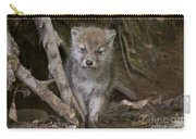 Arctic Wolf Pup Carry-all Pouch
