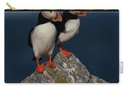 Atlantic Puffins Fratercula Arctica Carry-all Pouch
