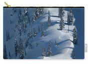 Backcountry Ski Traverse In Glacier Carry-all Pouch