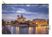 Cathedral Notre Dame Carry-all Pouch by Brian Jannsen