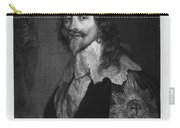 Charles I (1600-1649) Carry-all Pouch