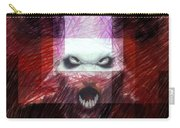 Halloween Mask Carry-all Pouch