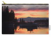 Port Clyde Maine Fishing Boats At Sunset Carry-all Pouch