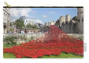 Remembrance Poppies At The Tower Of London Carry-all Pouch