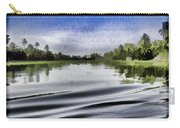Ripples On The Saltwater Lagoon Carry-all Pouch